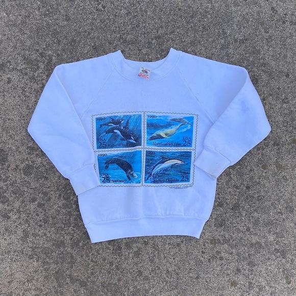 Vintage Kids Nature Ocean Sweater